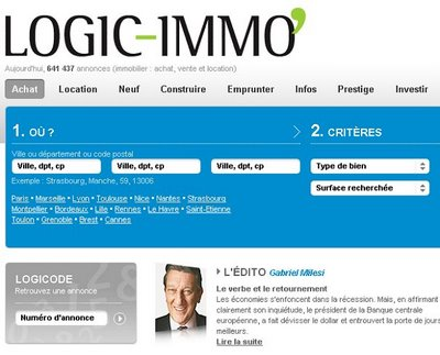 Logic for Site vente immobilier