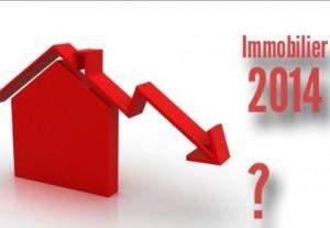 baisse immobilier 2014