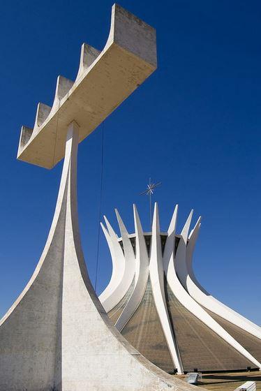 Cathédrale de Brasilia, Brésil