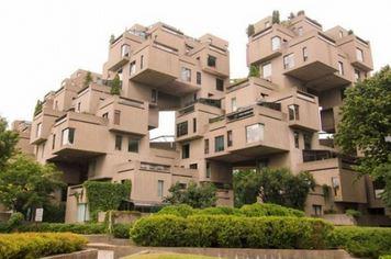 Habitat 67, Montréal, Canada