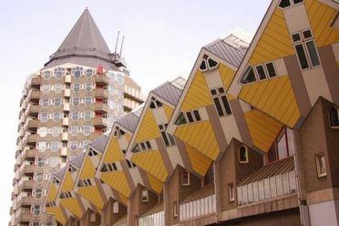 Maisons cubiques, Rotterdam, Pays-Bas