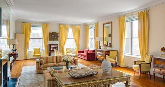 Salon new york duplex appartement immobilier vente location cr dit - Achat appartement new york ...