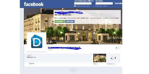 trouver un logement grâce à facebook